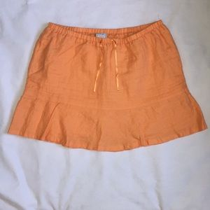 Old navy orange skirt. 16